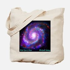 M51 - Whirlpool Galaxy Tote Bag