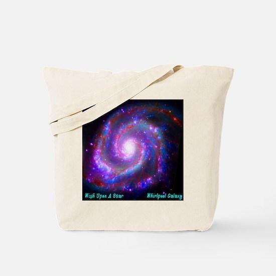 M51 - Whirlpool Galaxy Tote Bag