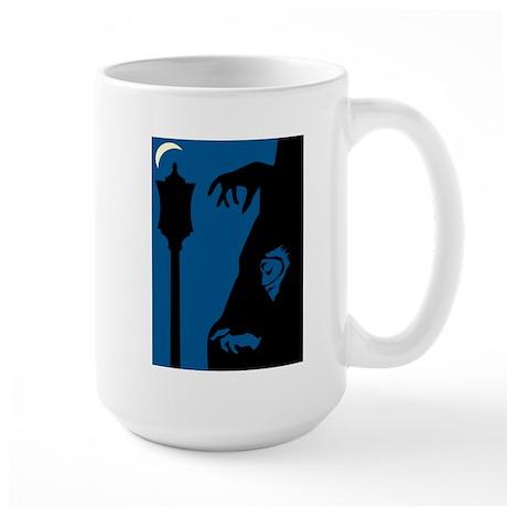 Creepy Streetlight Left-handed Large Mug