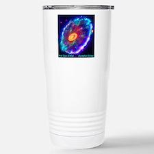 Cartwheel Galaxy Travel Mug