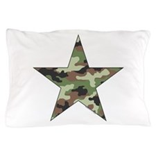 Camouflage Star Pillow Case