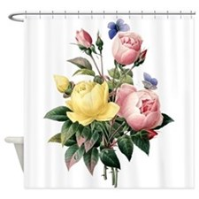 Pretty Roses Shower Curtain