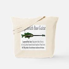 Largemouth Bass Guitar Tote Bag