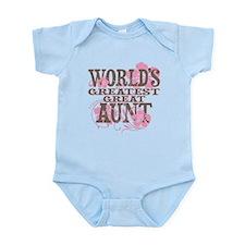 Greatest Great Aunt Infant Bodysuit