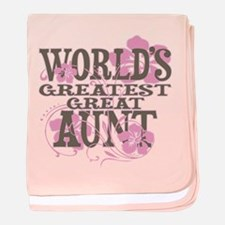Great Aunt baby blanket