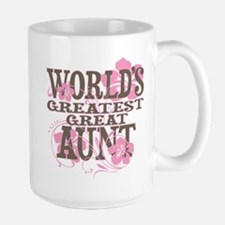 Greatest Great Aunt Ceramic Mugs