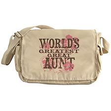 Greatest Great Aunt Messenger Bag