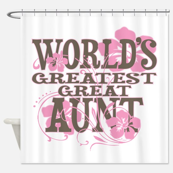 Great Aunt Shower Curtain