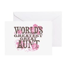 Greatest Great Aunt Greeting Card