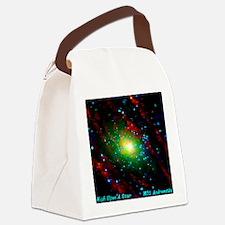 M31 Andromeda Galaxy Canvas Lunch Bag
