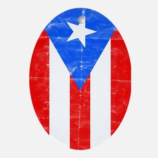 puertorico2 Ornament (Oval)