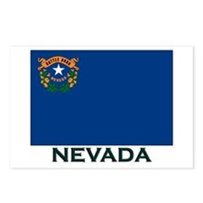 Nevada Flag Gear Postcards (Package of 8)