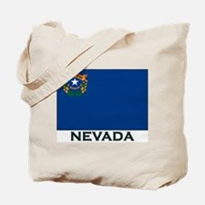 Nevada Flag Gear Tote Bag