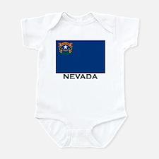 Nevada Flag Gear Infant Bodysuit