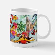 Mermaids under the sea Mug