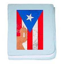 Puerto rico el moro baby blanket