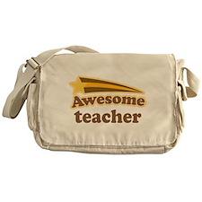Awesome Teacher Messenger Bag