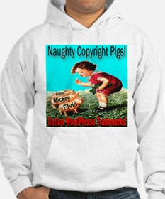 Naughty Copyright Pigs: Outla Hoodie