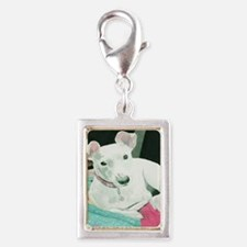 Jack Russell Terrier Sully Silver Portrait Charm
