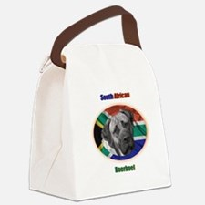 South African Flage Dark.png Canvas Lunch Bag