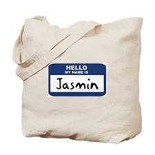 Hello: Jasmin Tote Bag