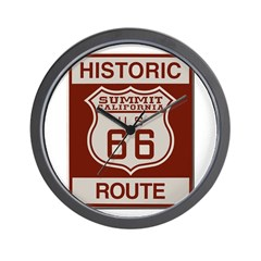 Summit Route 66 Wall Clock