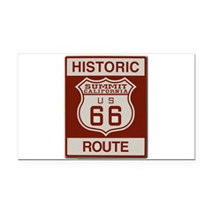Summit Route 66 Rectangle Car Magnet