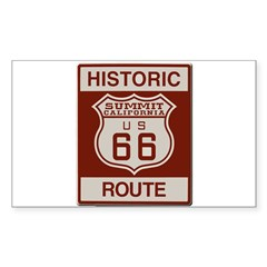 Summit Route 66 Sticker