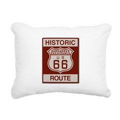 Summit Route 66 Rectangular Canvas Pillow