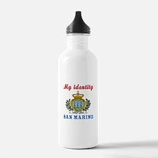 My Identity San Marino Water Bottle