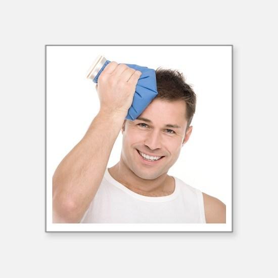 Headache treatment - Square Sticker 3
