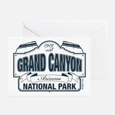 Grand Canyon National Park Greeting Cards (Pk of 1