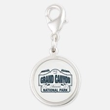 Grand Canyon National Park Silver Round Charm