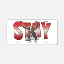 Stay Aluminum License Plate