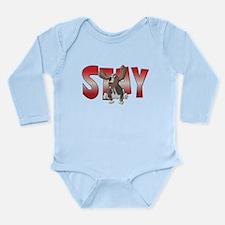Stay Long Sleeve Infant Bodysuit