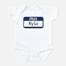 Hello: Kylie Infant Bodysuit