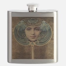 Art Decor Giclee Flask