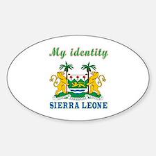 My Identity Sierra Leone Decal