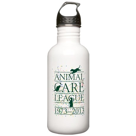 Animal Care League 40th Birthday Stainless Water B
