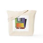 Old School Floppy Disk Tote Bag