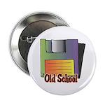 Old School Floppy Disk Button