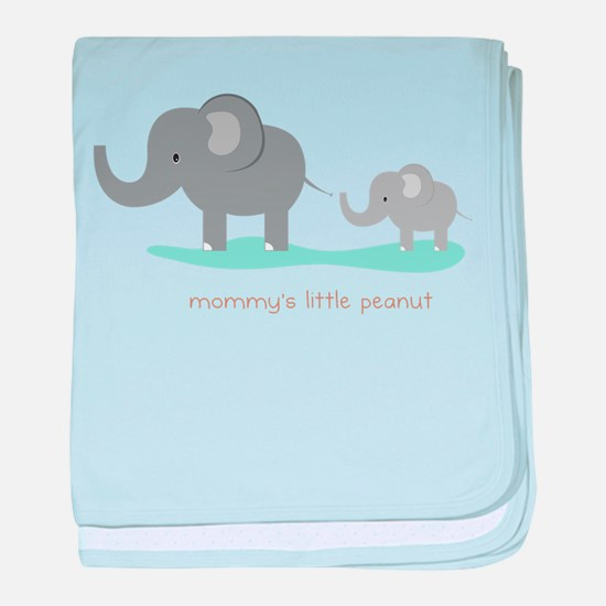 Mommy's Little Peanut baby blanket