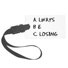 glengarry - abc.png Luggage Tag
