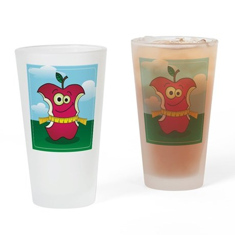 Weight Loss Apple Drinking Glass