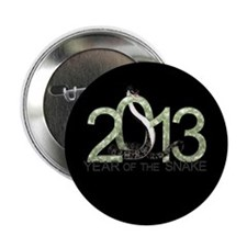 "Year of the Snake 3 2.25"" Button"