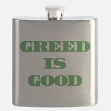 Greed Is Good Flask