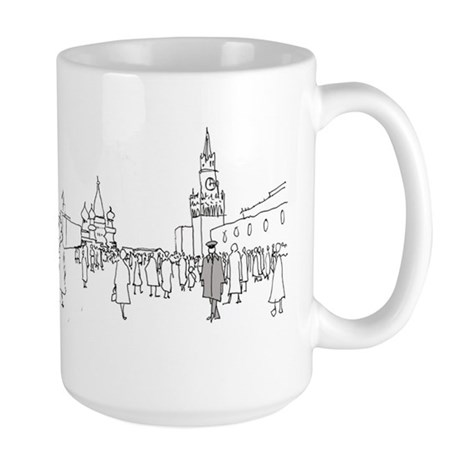 Red Square Mugs