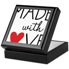 Made With Love Keepsake Box