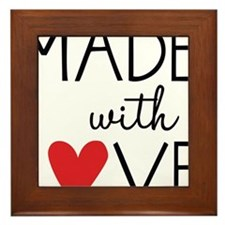 Made With Love Framed Tile