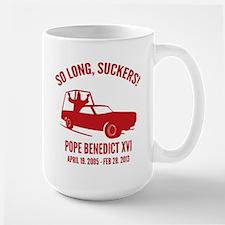 Pope So Long Suckers Mug